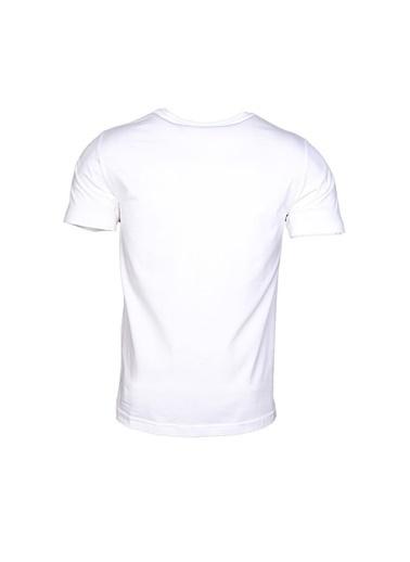 Hummel Erkek Tişört Chong 910601-9003 Beyaz
